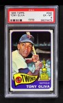 1965 Topps #340  Tony Oliva  Front Thumbnail
