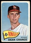 1965 Topps #140  Dean Chance  Front Thumbnail