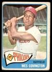 1965 Topps #583  Wes Covington  Front Thumbnail