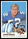1969 Topps #210  Dave Edwards  Front Thumbnail