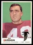 1969 Topps #159  Jim Burson  Front Thumbnail