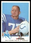 1969 Topps #138  Bob Vogel  Front Thumbnail