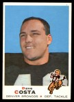 1969 Topps #213  Dave Costa  Front Thumbnail