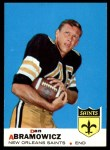 1969 Topps #36  Dan Abramowicz  Front Thumbnail