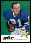 1969 Topps #13  Jim Lindsey  Front Thumbnail