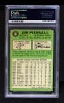 1967 Topps #584  Jimmy Piersall  Back Thumbnail