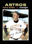 1971 Topps #312  Harry Walker  Front Thumbnail