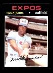 1971 Topps #142  Mack Jones  Front Thumbnail