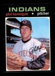 1971 Topps #211  Phil Hennigan  Front Thumbnail