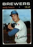 1971 Topps #746  Andy Kosco  Front Thumbnail