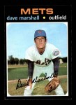 1971 Topps #259  Dave Marshall  Front Thumbnail