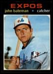 1971 Topps #628  John Bateman  Front Thumbnail