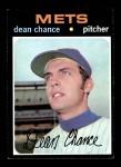 1971 Topps #36  Dean Chance  Front Thumbnail