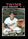 1971 Topps #189  George Mitterwald  Front Thumbnail