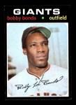 1971 Topps #295  Bobby Bonds  Front Thumbnail