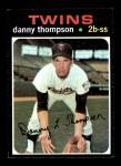 1971 Topps #127  Danny Thompson  Front Thumbnail
