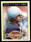 1980 Topps #450  Steve Largent  Front Thumbnail
