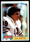 1981 Topps #316  Dan Hampton  Front Thumbnail