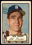 1952 Topps #367  Bob Thorpe  Front Thumbnail