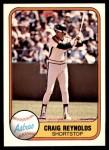 1981 Fleer #74  Craig Reynolds  Front Thumbnail