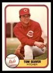 1981 Fleer #200  Tom Seaver  Front Thumbnail