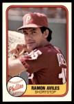 1981 Fleer #23  Ramon Aviles  Front Thumbnail