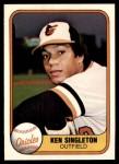 1981 Fleer #188  Ken Singleton  Front Thumbnail
