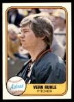 1981 Fleer #53  Vern Ruhle  Front Thumbnail