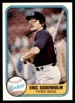 1981 Fleer #92  Eric Soderholm  Front Thumbnail