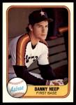 1981 Fleer #72  Danny Heep  Front Thumbnail