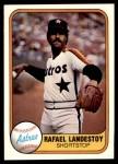 1981 Fleer #70  Rafael Landestoy  Front Thumbnail