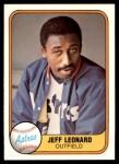 1981 Fleer #67  Jeff Leonard  Front Thumbnail