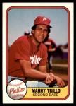 1981 Fleer #3  Manny Trillo  Front Thumbnail