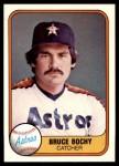 1981 Fleer #69  Bruce Bochy  Front Thumbnail