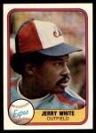 1981 Fleer #161  Jerry White  Front Thumbnail