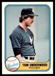 1981 Fleer #97  Tom Underwood  Front Thumbnail