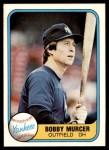 1981 Fleer #94  Bobby Murcer  Front Thumbnail