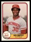 1981 Fleer #199  Ken Griffey  Front Thumbnail