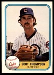 1981 Fleer #296  Scot Thompson  Front Thumbnail