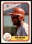 1981 Fleer #219  Sam Mejias  Front Thumbnail