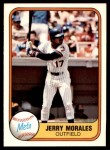 1981 Fleer #338  Jerry Morales  Front Thumbnail