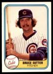 1981 Fleer #294  Bruce Sutter  Front Thumbnail