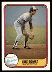 1981 Fleer #253  Luis Gomez  Front Thumbnail