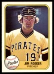1981 Fleer #368  Jim Rooker  Front Thumbnail