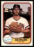 1981 Fleer #392  Dan Spillner  Front Thumbnail
