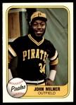 1981 Fleer #386  John Milner  Front Thumbnail