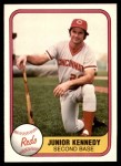 1981 Fleer #203  Junior Kennedy  Front Thumbnail