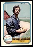 1981 Fleer #347  Richard Wortham  Front Thumbnail