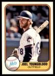 1981 Fleer #331  Joel Youngblood  Front Thumbnail
