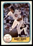 1981 Fleer #300  Randy Martz  Front Thumbnail